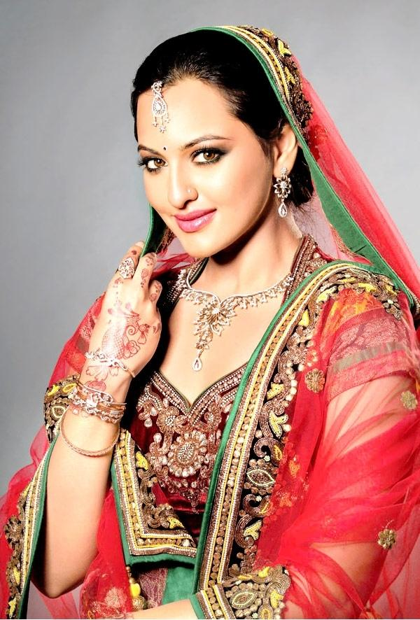 Sonakshi Sinha Bridal Look Beautiful Photo