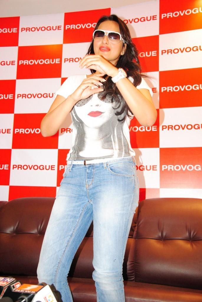 Sonakshi Sinha New Provogue Brand Ambassador