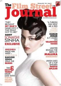 Sonakshi Sinha Photoshoot For The Film Street Journal Magazine