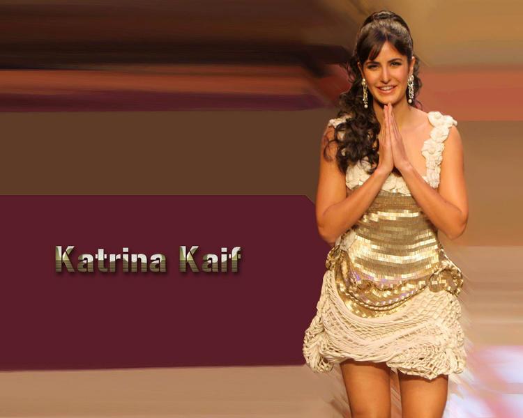 Katrina Kaif Sexy Dress Gorgeous Wallpaper