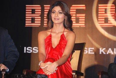 Shilpa Shetty in Big Boss Reality Show