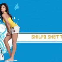 Shilpa Shetty Short Dress Hot Wallpaper