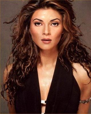 Sushmita Sen Hot Senseous Look Wallpaper