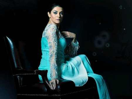 Sushmita Sen Hot Stylist Pose Photo Shoot