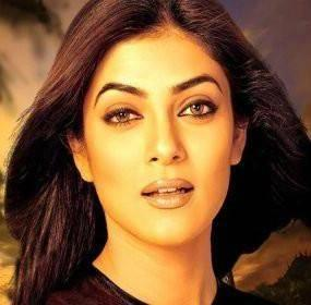 Sushmita Sen Wet Romancing Look Wallpaper