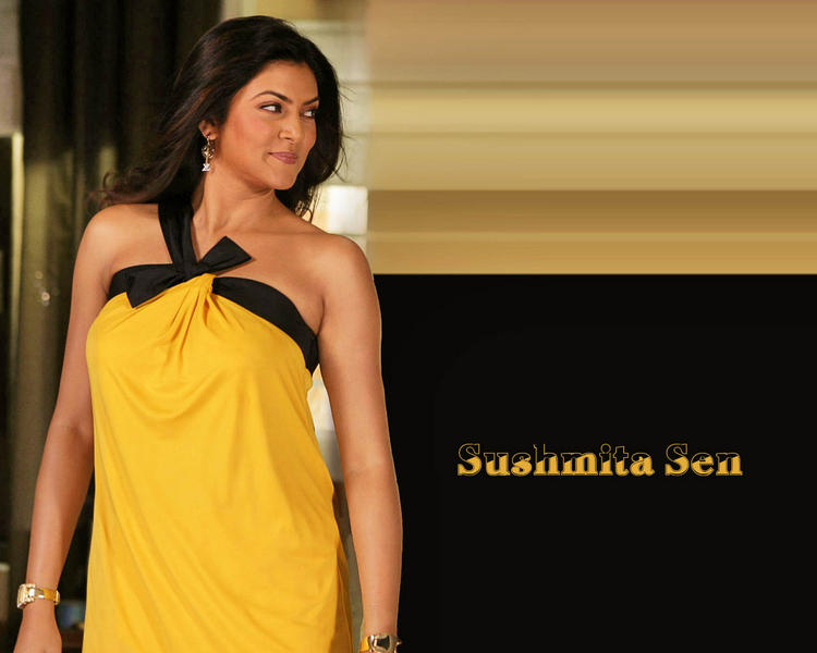 Sweet Sushmita Sen Hot Wallpaper
