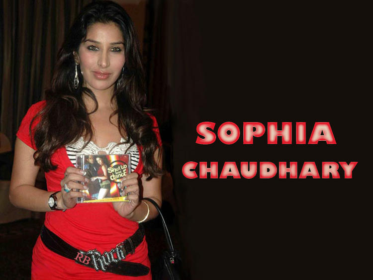 Sophia Chaudhary Red Dess Wallpaper