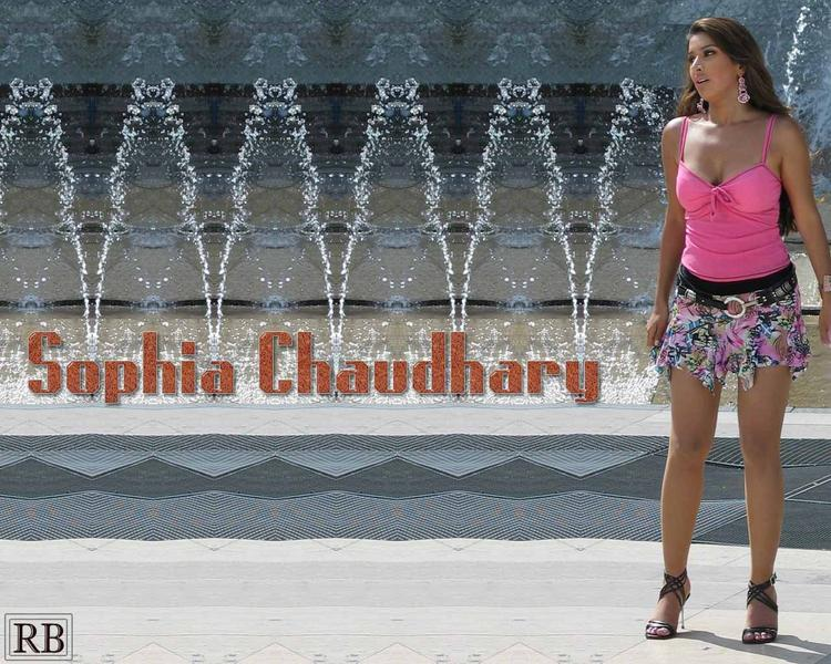 Sophia Chaudhary Short Dress Wallpaper
