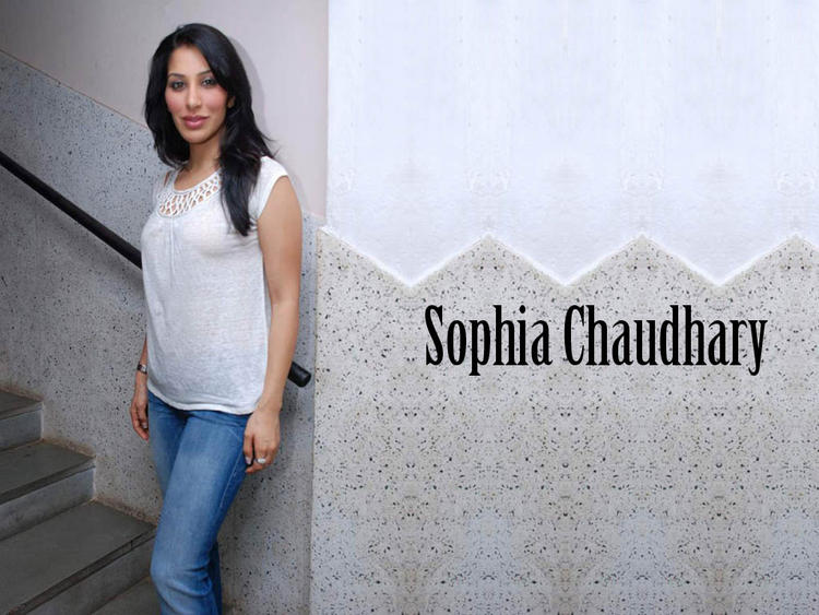 Sophia Chaudhary Simple And Nice Look Wallpaper