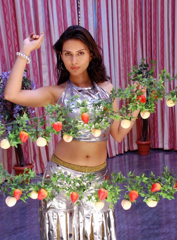 Gowri Pandit Hot Navel Exposing Photo