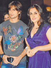 Shahid and Vidya Hot Gorgeous Pic