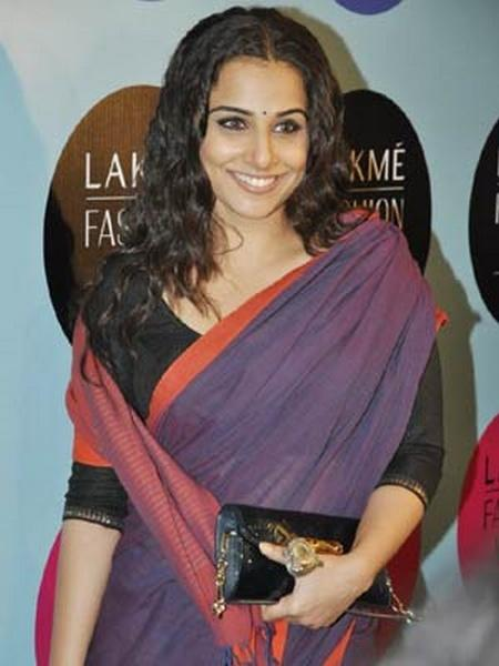 Vidya Balan in A Cotton Handloom Saree Still