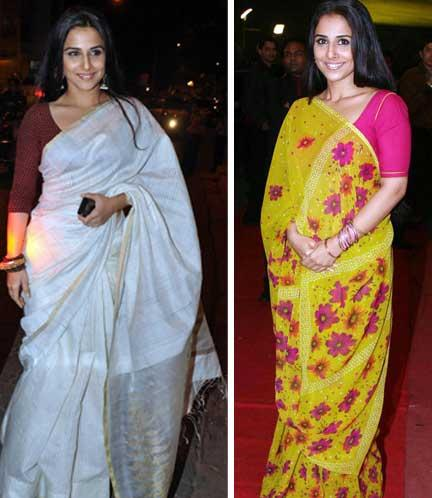 Vidya Balan Latest Still In Saree