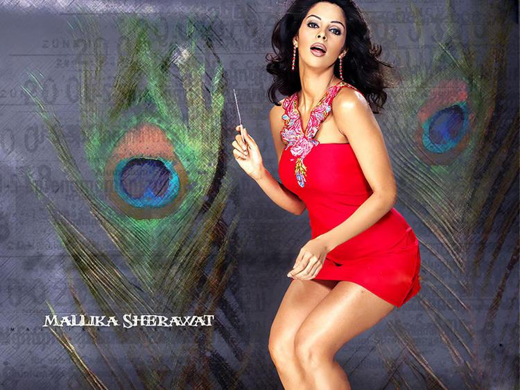 Mallika Sherawat Sexy Pose Wallpaper