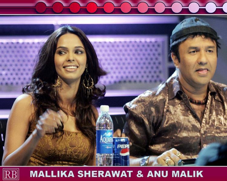 Mallika Sherawat Sweet Pic With Anu Malik