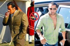 Salman Khan Smoking Photo