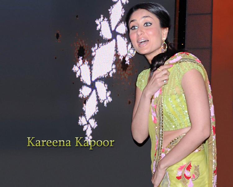 Kareena Kapoor Latest Wallpaper In Saree
