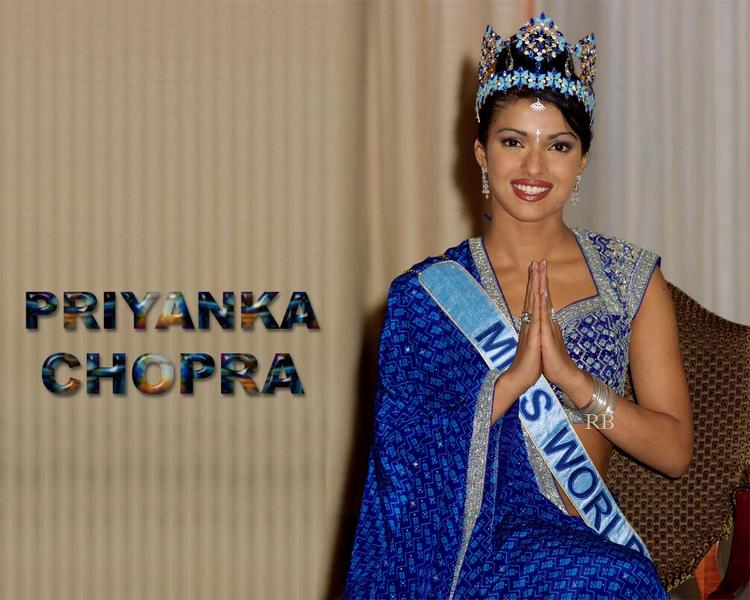 Former Miss World Priyanka Chopra Wallpaper