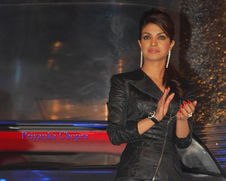 Priyanka Chopra Black Blazer Wallpaper