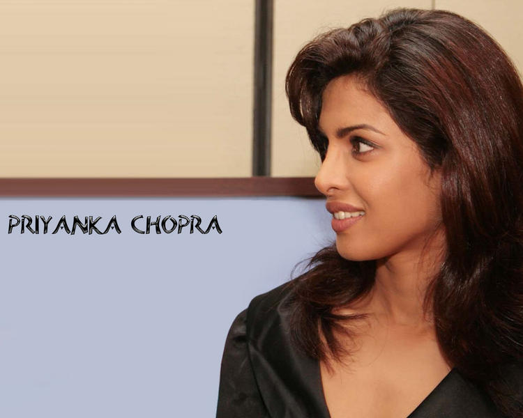 Priyanka Chopra Side Shocking Face Look Wallpaper