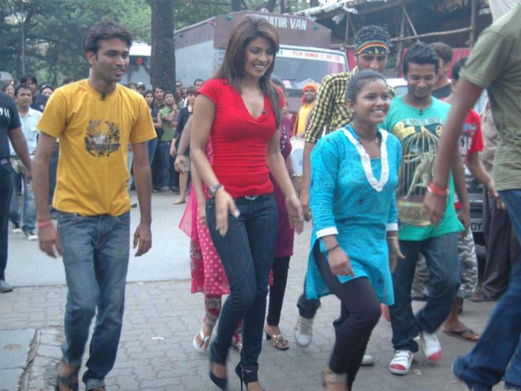 Priyanka Chopra Stylist Photo In Red Tops and Jesns
