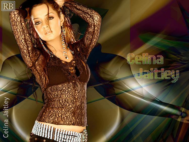 Celina Jaitley Gorgeous Looking Wallpaper