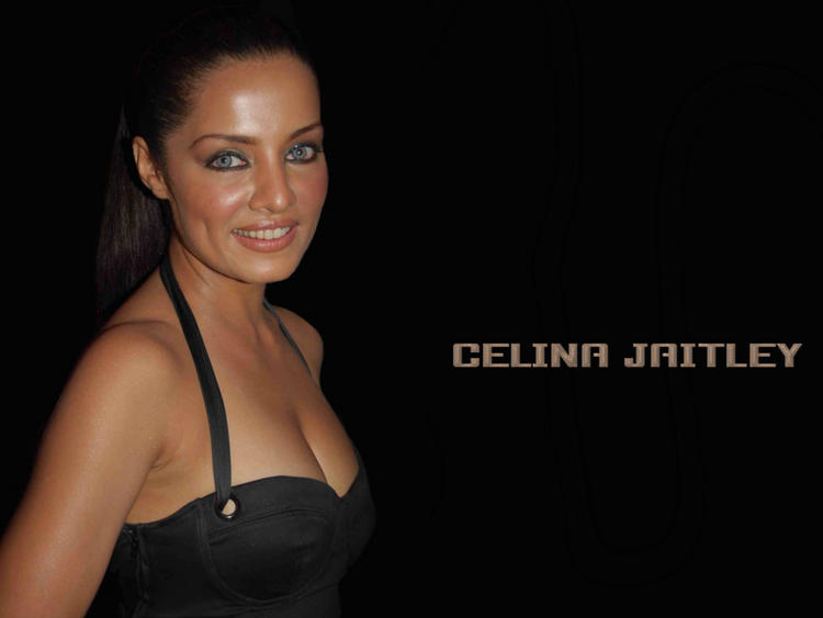 Celina Jaitley Smiling Wallpaper