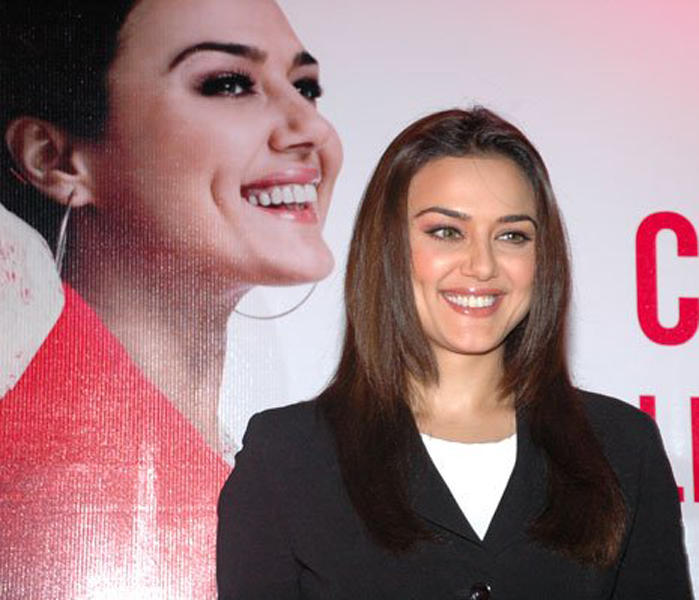 Preity Zinta Beautiful Smile Pic