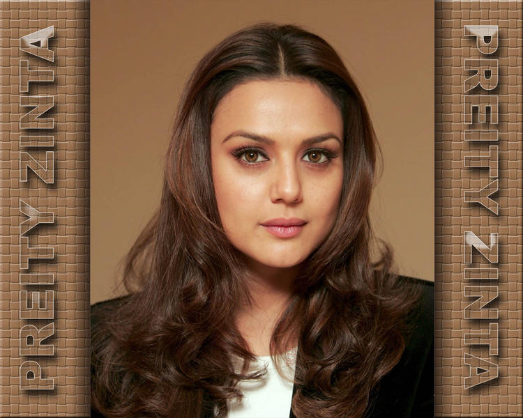 Preity Zinta Good Looking Wallpaper