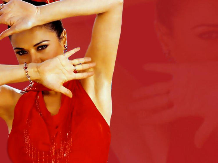 Preity Zinta Hot and Sexy Wallpaper