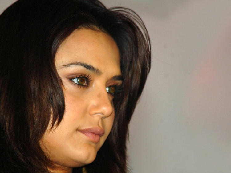 Preity Zinta Innocent Look Wallpaper