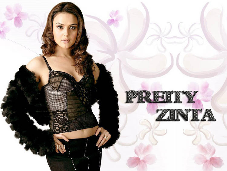 Preity Zinta Stylist Hot Wallpaper