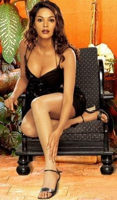 Mallika Sherawat Showing Her Glossy Things