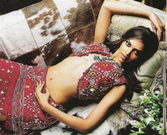 Deepika Padukone Sexy Navel Pose Photo Shoot