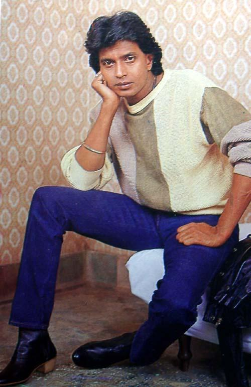 Handsome Mithun Chakraborty Nice Photo