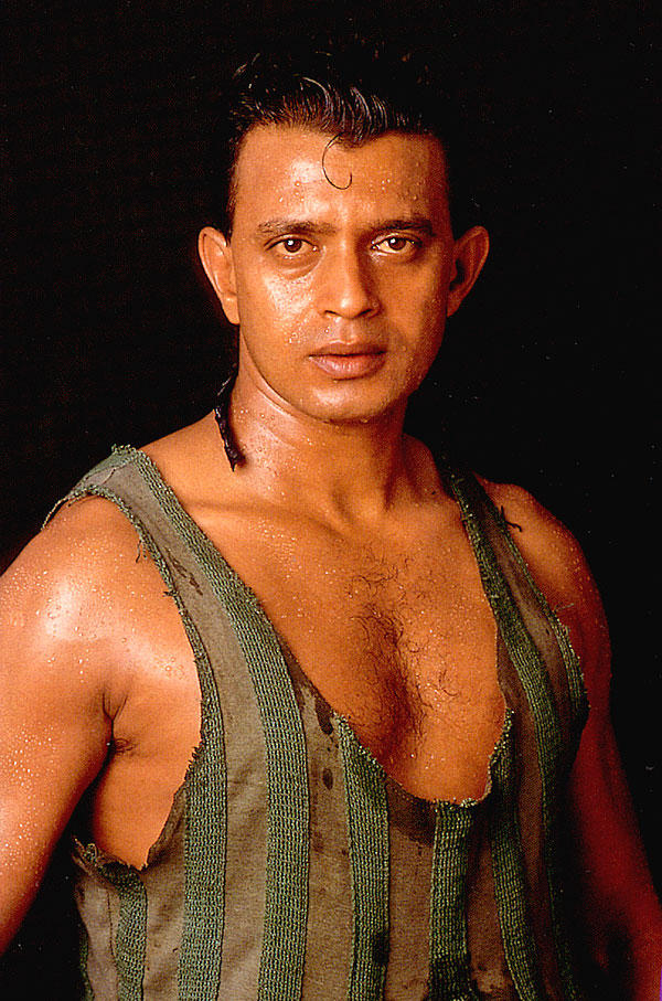 Mithun Chakraborty Angry Look Photo