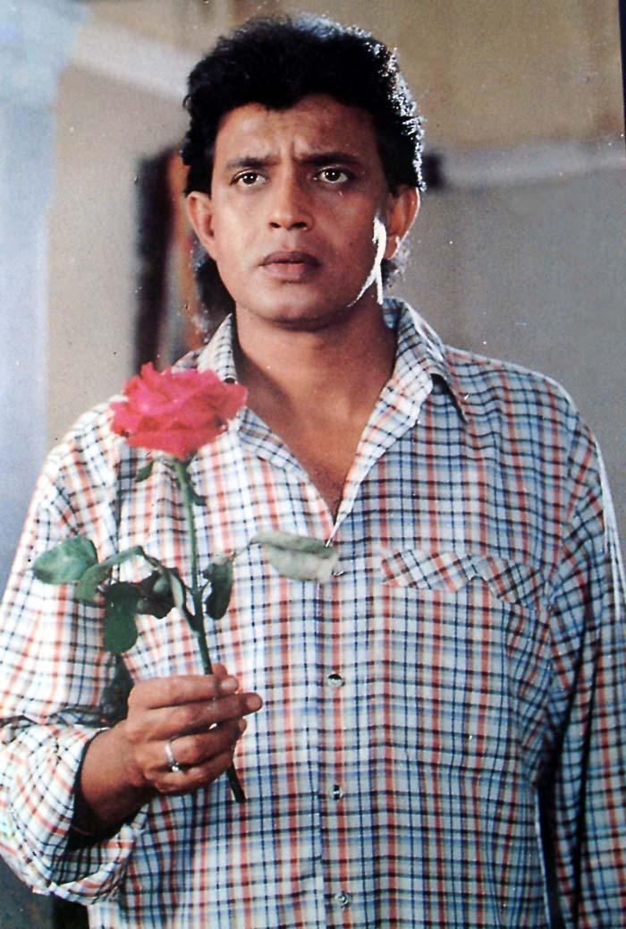 Mithun Chakraborty In Romantic Look Photo