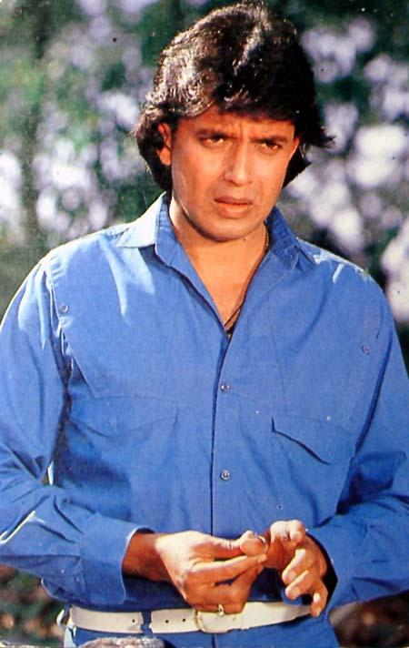 Mithun Chakraborty Simple Look Pics