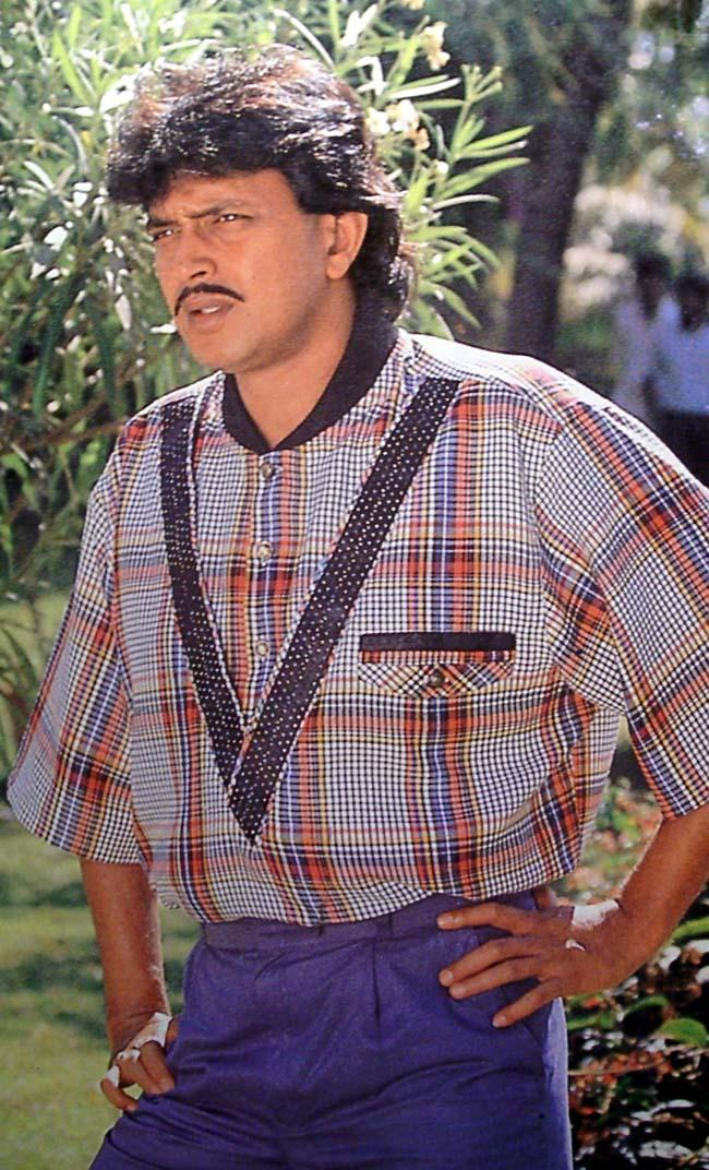 Mithun Chakraborty Smart Look Pics