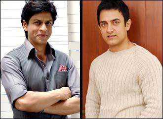 Aamir Khan And Shahrukh Khan Photo