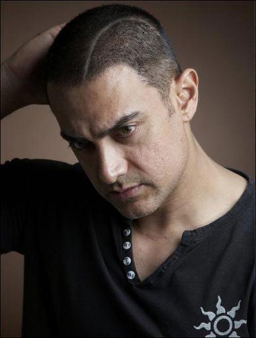 Handsome Aamir Khan Ghajini Hair Style
