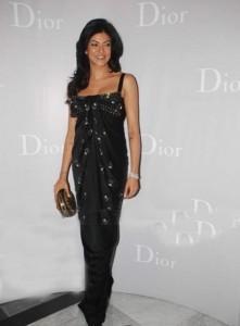 Sushmita Sen Black Dress Beauty Still