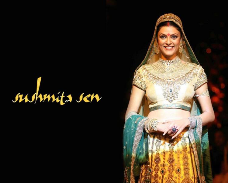 Sushmita Sen Bridal Look Wallpaper