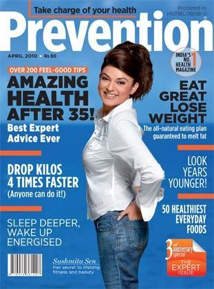 Sushmita Sen Prevention Magazine Still