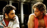 Abhi and Hrithik In Dhoom 2