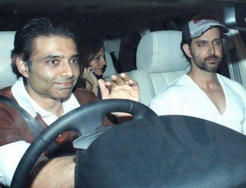 Uday and Hrithik Latest Pic