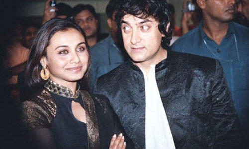 Rani Mukherjee and Aamir Khan Gorgeous Pic
