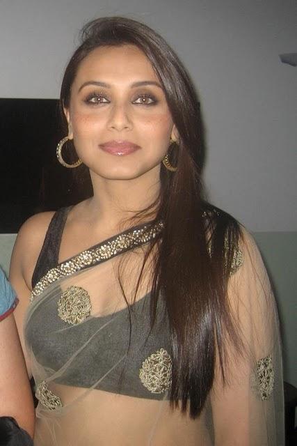 Rani Mukherjee Transparent Saree Gorgeous Photo