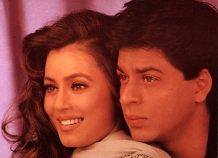 Mahima Chaudhary And Shahrukh Khan Smiling And Hot Pics