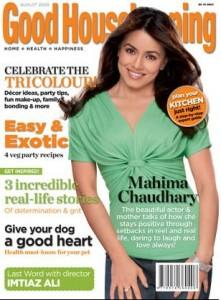 Mahima Chaudhary On Good Housekeeping Magazine